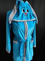 Купить турецкий детский халат из велюра, фото 1