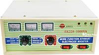 Преобразователь напряжения (инвертор) Solar Africa EK228-1000ВA 1000Вт DC/AC 12В-220В c зарядкой для