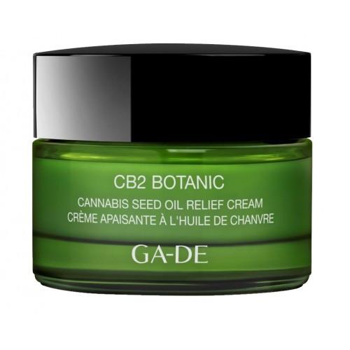 Успокаивающий крем с маслом семян конопли GA-DE CB2 BOTANIC Cannabis Seed Oil Relief Cream
