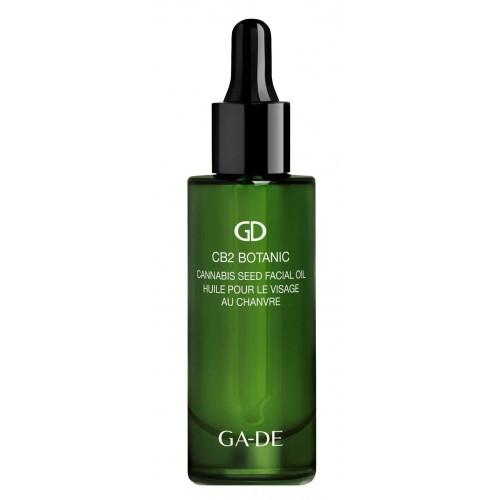 Масло для лица с семенами конопли GA-DE CB2 BOTANIC Cannabis Seed Facial Oil