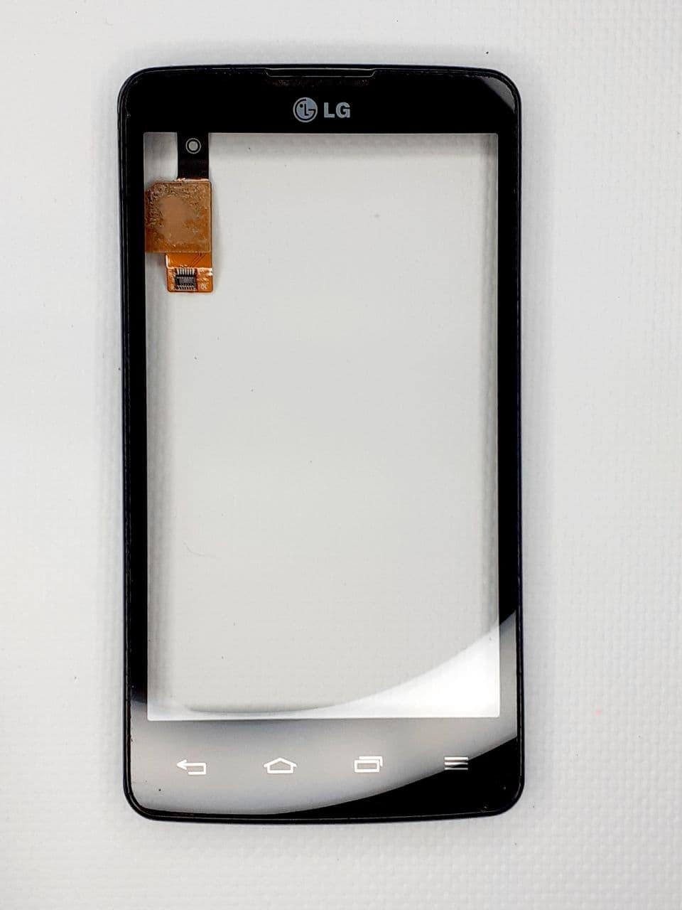Сенсор для LG Optimus L60 (X130, X135, X145, X147) Original Black б.у.