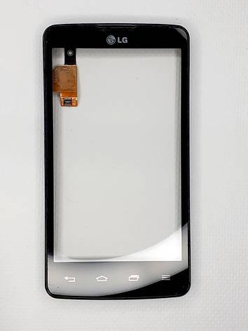 Сенсор для LG Optimus L60 (X130, X135, X145, X147) Original Black б.у., фото 2