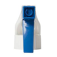 Распылитель курковый (Триггер) 28/410 голубой+белый (ТОЛЬКО ОПТ), фото 3