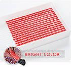 Алмазная вышивка, собачка с бабочкой , 25х25 см, полная выкладка, квадратные стразы, фото 7