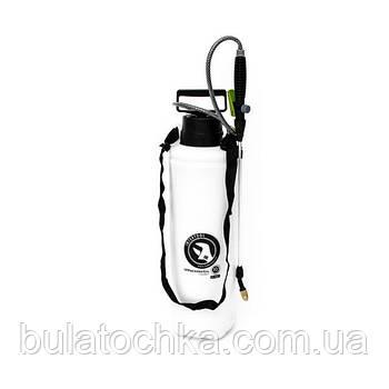 Опрыскиватель 10 л, 2 сопла латунь+пластик INTERTOOL FT-9007