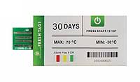 Одноразовый регистратор температуры Fresh Tag 1 (-30 ...+ 70 С; ±0.5 С) 30 дней. IP67. PDF Alarm 2C-8C, фото 1