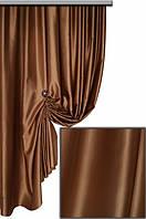 Селеста (шанзализе) ткань для штор (шоколад) код  10 С