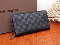 Кожаные мужские кошельки, Louis Vuitton реплика 7а