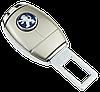 Заглушка - переходник ремня безопасности  с логотипом PEUGEOT (ELIT 4S1), фото 2