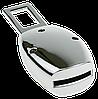 Заглушка - переходник ремня безопасности  с логотипом PEUGEOT (ELIT 4S1), фото 5