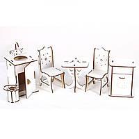 """Набор деревянной мебели """"Кухня большая"""" BigEcoToys (Б44б)"""
