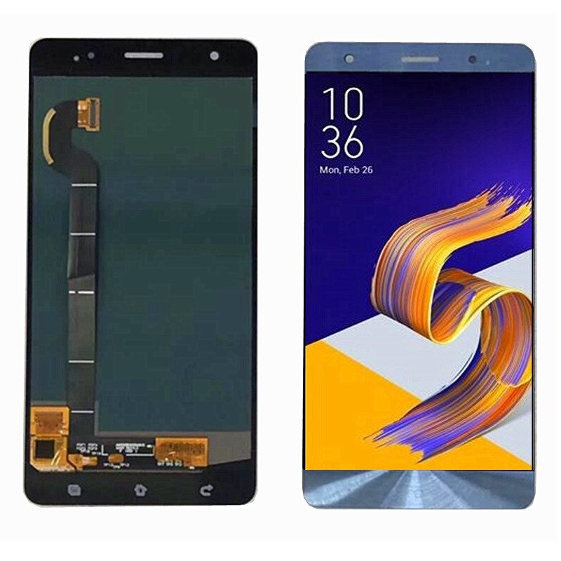 Дисплей (LCD) Asus ZenFone 3 Deluxe | ZS570KL OLED с тачскрином, синий