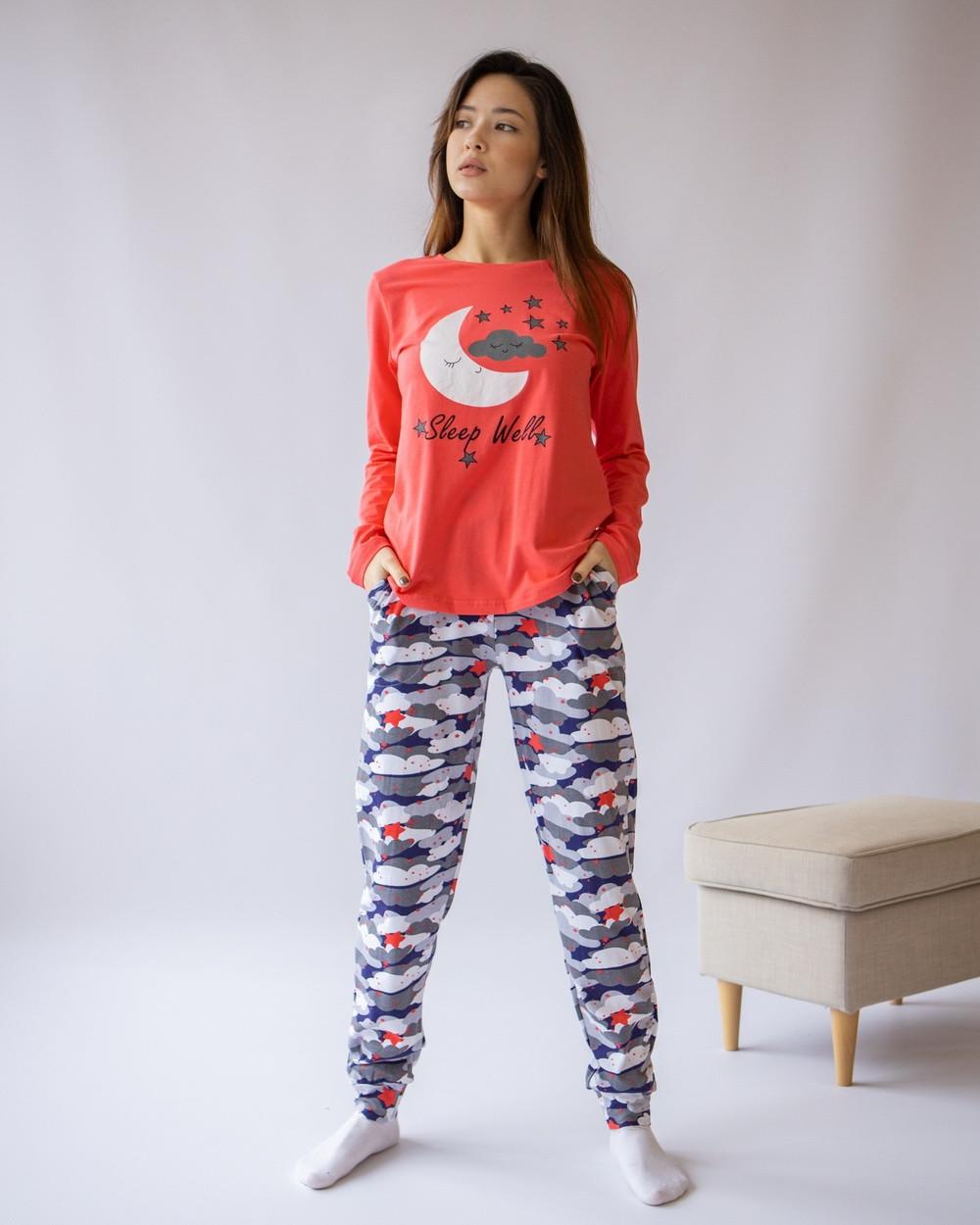 Комплект женский с брюками  для сна и дома  Nicoletta 96424