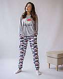 Комплект женский с брюками  для сна и дома  Nicoletta 96424, фото 3