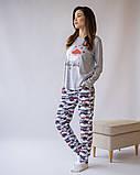 Комплект женский с брюками  для сна и дома  Nicoletta 96424, фото 5
