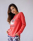 Комплект женский с брюками  для сна и дома  Nicoletta 96424, фото 6
