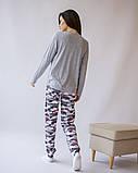 Комплект женский с брюками  для сна и дома  Nicoletta 96424, фото 9