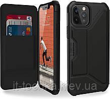 Чехол для iphone 12 / 12 pro metropolis satn black uag (112356113840)