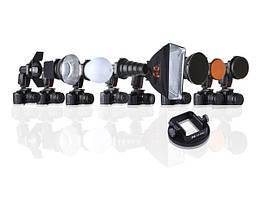 K9 KIT комплект аксессуаров на вспышку с универсальной насадкой Flex Adapter