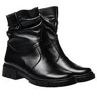 Ботинки La Rose 2323 36(23,4см) Черная кожа ЗИМНИЕ, фото 1