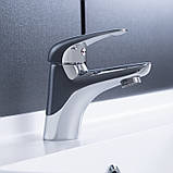 Смеситель для умывальника Q-tap Eventi CRM 001, фото 3