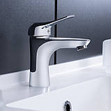 Смеситель для умывальника Q-tap Integra CRM 001, фото 3