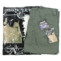 Тактические штаны Helikon UTP - Olive Drab (PolyCotton Ripstop)