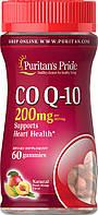 Коэнзим Q-10 (Co Q-10 Peach Mango Gummies) 100 мг 60 жевательных конфет со вкусом персик-манго