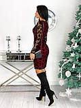 Платье женское с кружевом вечернее нарядное, фото 9