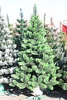 Ёлка европейская зелёная 150см иголки леска ПВХ Италия,светлый кончик