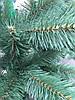 Елка искусственная европейская 200см, иголки леска ПВХ Италия, трубчаты пушистый ствол, многоярусная, фото 2