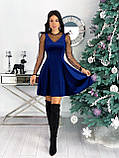 Платье женское бархатное вечернее нарядное, фото 6
