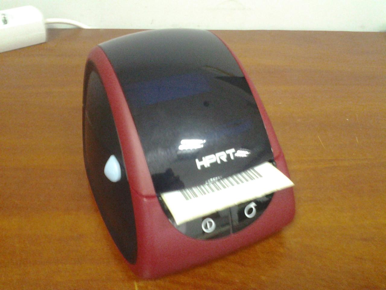 Принтер чеков и этикеток HPRT LPQ58 (USB, RS232, термо 58 мм)