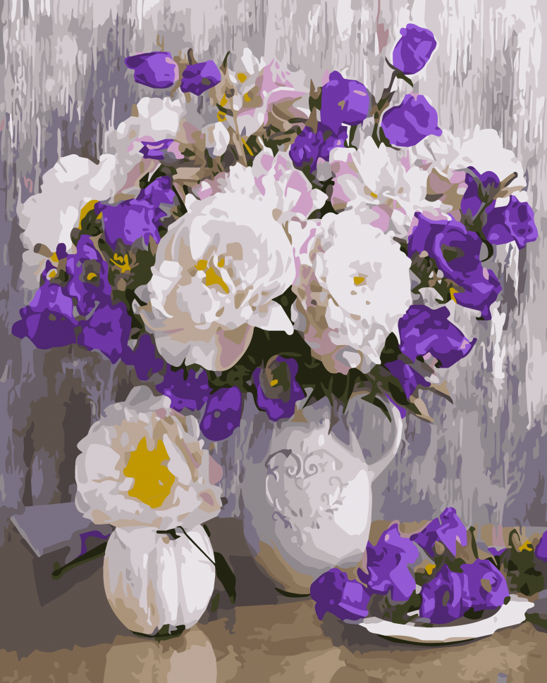 """Картина по номерам. Art Craft """"Цветочное разнообразие"""" 40*50 см 12109-AC"""