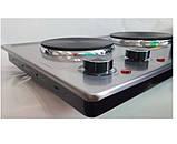 Плитка электрическая DSP KD4047 на 2 конфорки, фото 4
