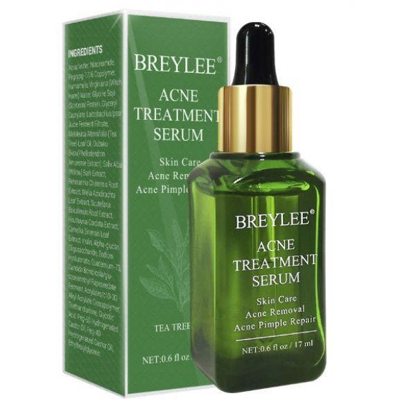 Эссенция для лица против акне и прыщей BREYLEE Acne Treatment Serum Facial Essence Anti Acne экстрактом