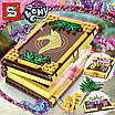 Конструктор книга-игровое поле SY1497  Little Pony 546 деталей, фото 5
