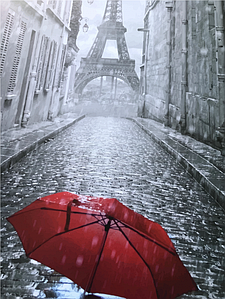 """Картина по номерам. Art Craft """"Зонтик в Париже"""" 40*50 см 11207-AC"""