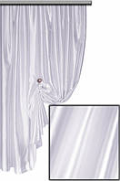 Селеста (шанзализе) ткань для штор (белый) код 001 С