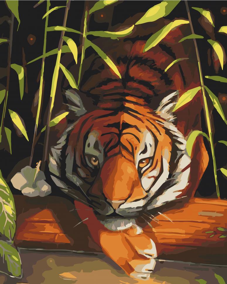 """Картина по номерам. Art Craft """"Бенгальский тигр"""" 40*50 см 11618-AC"""