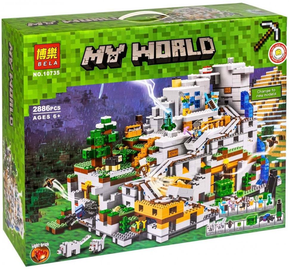 """Конструктор """"Minecraft"""", """"Горная пещера"""" 10735"""