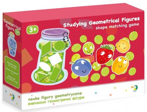 Настольная игра DoDo Изучаем геометрические фигуры 300139