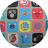 Мяч баскетбольный Spalding NBA Team Collection Outdoor Size 7, фото 2