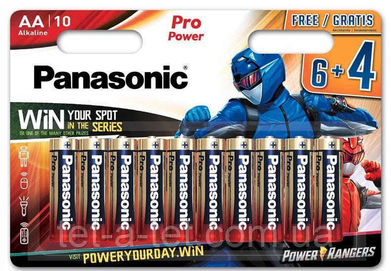 Батарейка PANASONIC Pro Power Rangers, тип АА -1 шт.