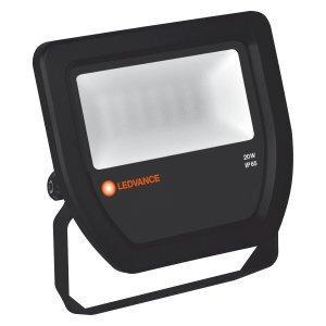 Светодиодный прожектор до-20Вт 3000К 2100 lm ip65 чёрный, Osram [4058075097445]