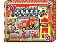 Конструктор металлический пожарная техника технок