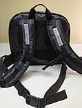 Рюкзак, термосумка для доставки еды с отделением для коробок на пиццу 42*42 см, фото 4