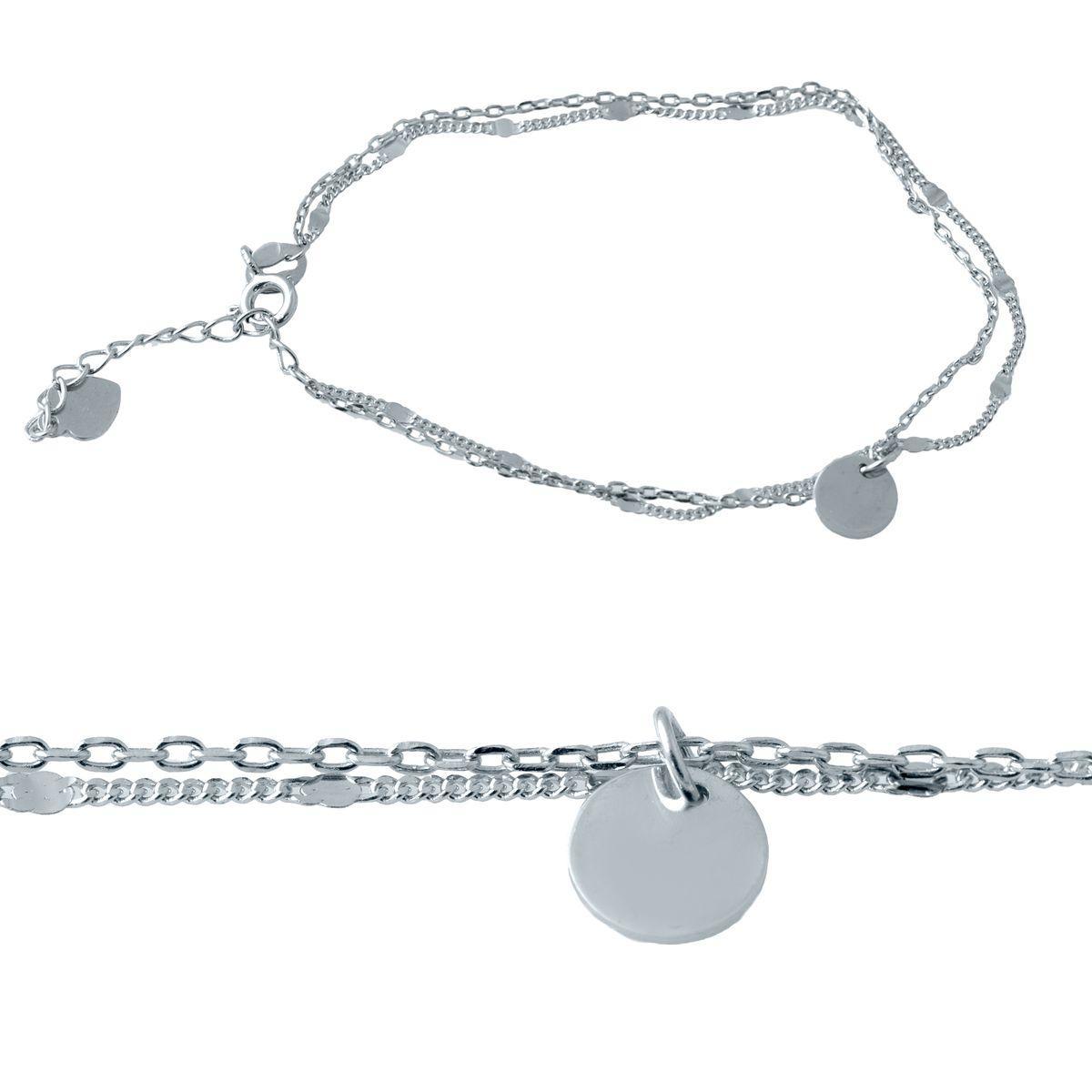 Серебряный браслет DreamJewelry без камней (2022268) 1720 размер