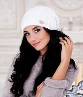 Женская шапка  Аурелия Бейлиз белая