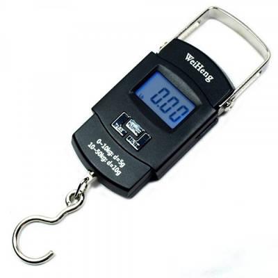 Электронные весы-кантер до 50 кг WeiHeng WH-A08 Черный (20053100105)